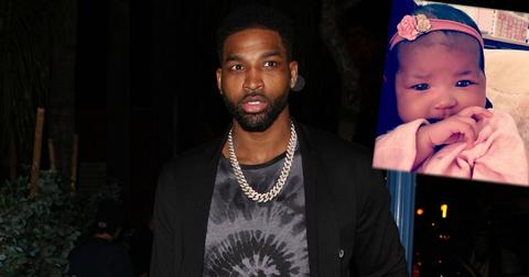 tristan thompson shares pic true meeting brother prince pp
