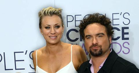 Johnny Galecki Is Leaning On Ex Kaley Cuoco For Emotional Support After Recent Split