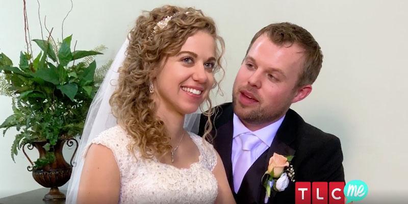 Fans think john david duggar abbie burnett may have kissed before wedding pp