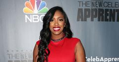Porsha Williams In Red Dress On Red Carpet