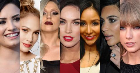 Celebrities no make up