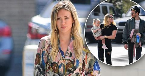 Hilary Duff Struggling To Keep Up As Mom Of Two