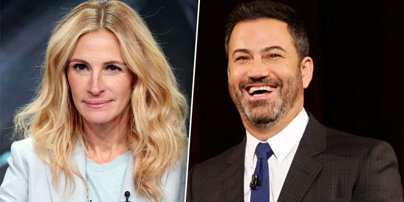 Julia Roberts Jimmy Kimmel PP
