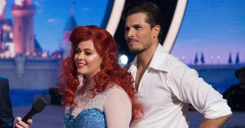 dwts sasha pieterse little mermaid dance video long