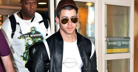 Nick Jonas arrives in Toronto for the Much Music Video Awards