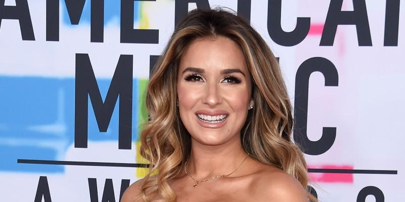 Jessie James Decker Wearing A Dress