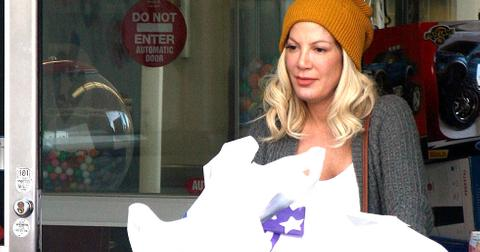 Tori Spelling Sued Amex Shopping Lawsuit Debt Broke Owes Money