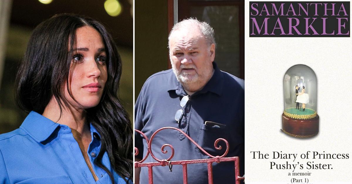 Meghan Markle's Sister Slams Royals For Not Postponing Wedding After Her Dad's Heart Attack