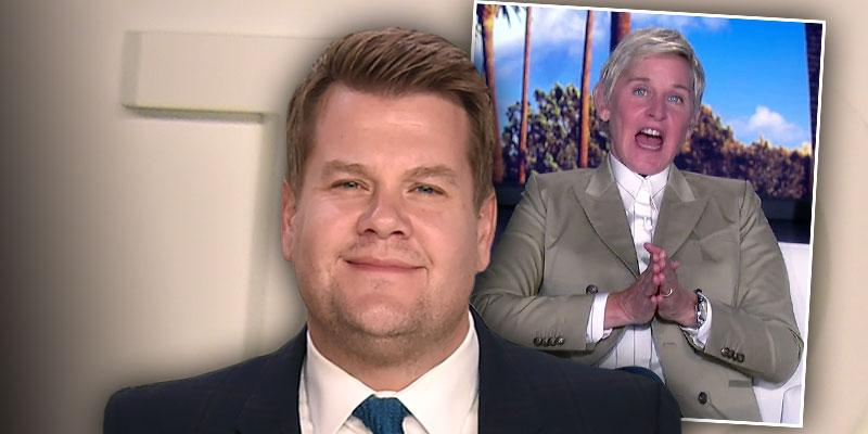 //james corden slams rumors replacing ellen degeneres pg