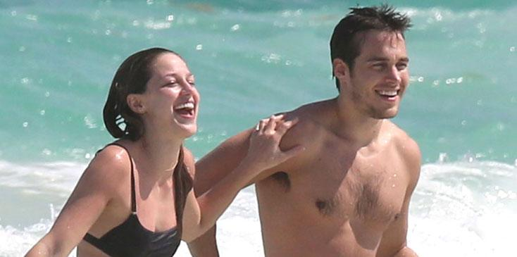 Melissa Benoist Boyfriend Chris Wood Photos Long