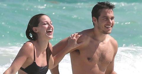 Melissa Benoist Boyfriend Chris Wood Photos Long