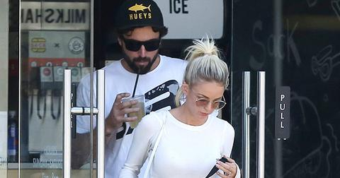 *EXCLUSIVE* Brody Jenner and his fiancee Kaitlynn Carter look casual as they grab lunch