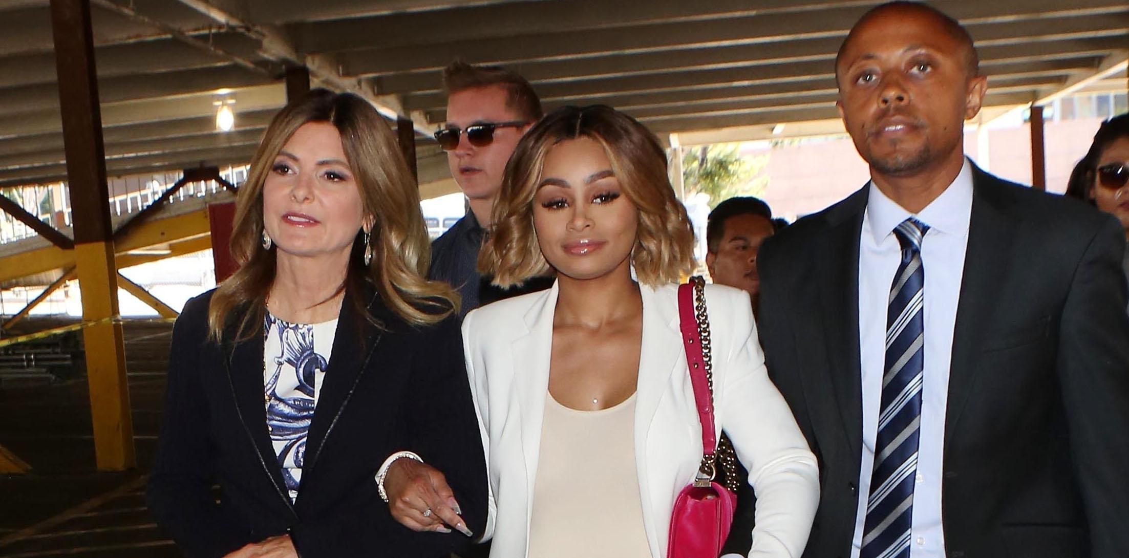Blac Chyna granted a restraining against Rob Kardashian