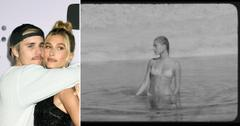 justin bieber wife hailey baldwin on the road anyone music video watch pf