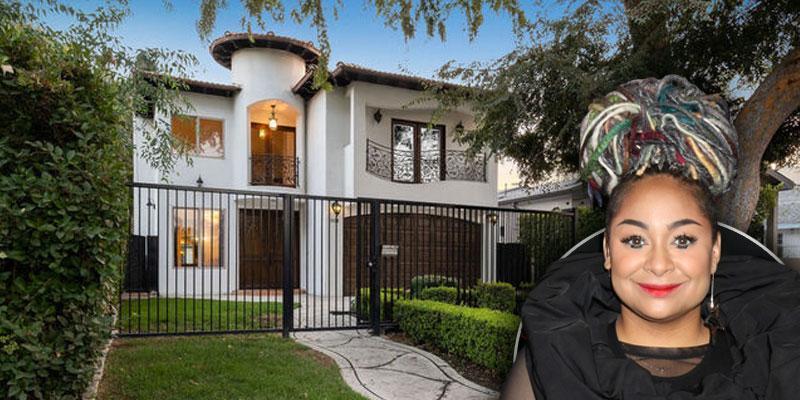 Raven-Symoné Pearman Lists Home Sherman Oaks