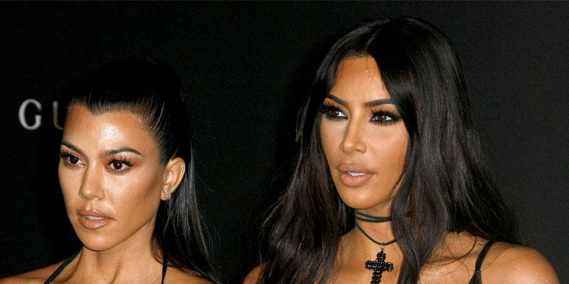 Kim Kardashian Trying To Be Less Reactive When Dealing With Kourtney