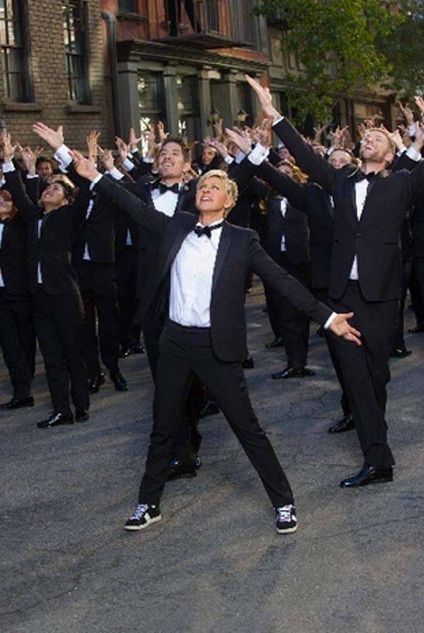 Ellen degeneres 2014 oscars promo video