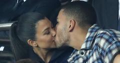 Kourtney kardashian younes bendjima kiss