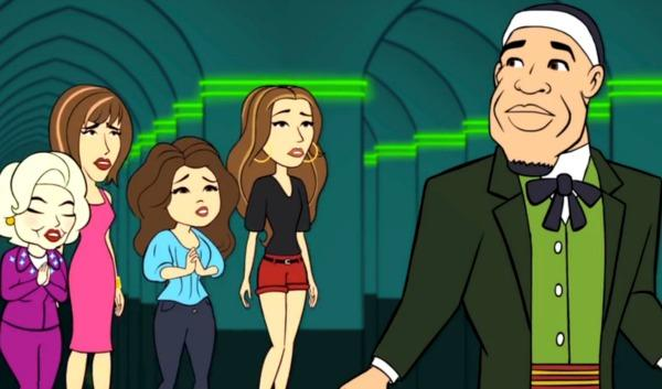 Hot in Cleveland - animated episode about LeBron James