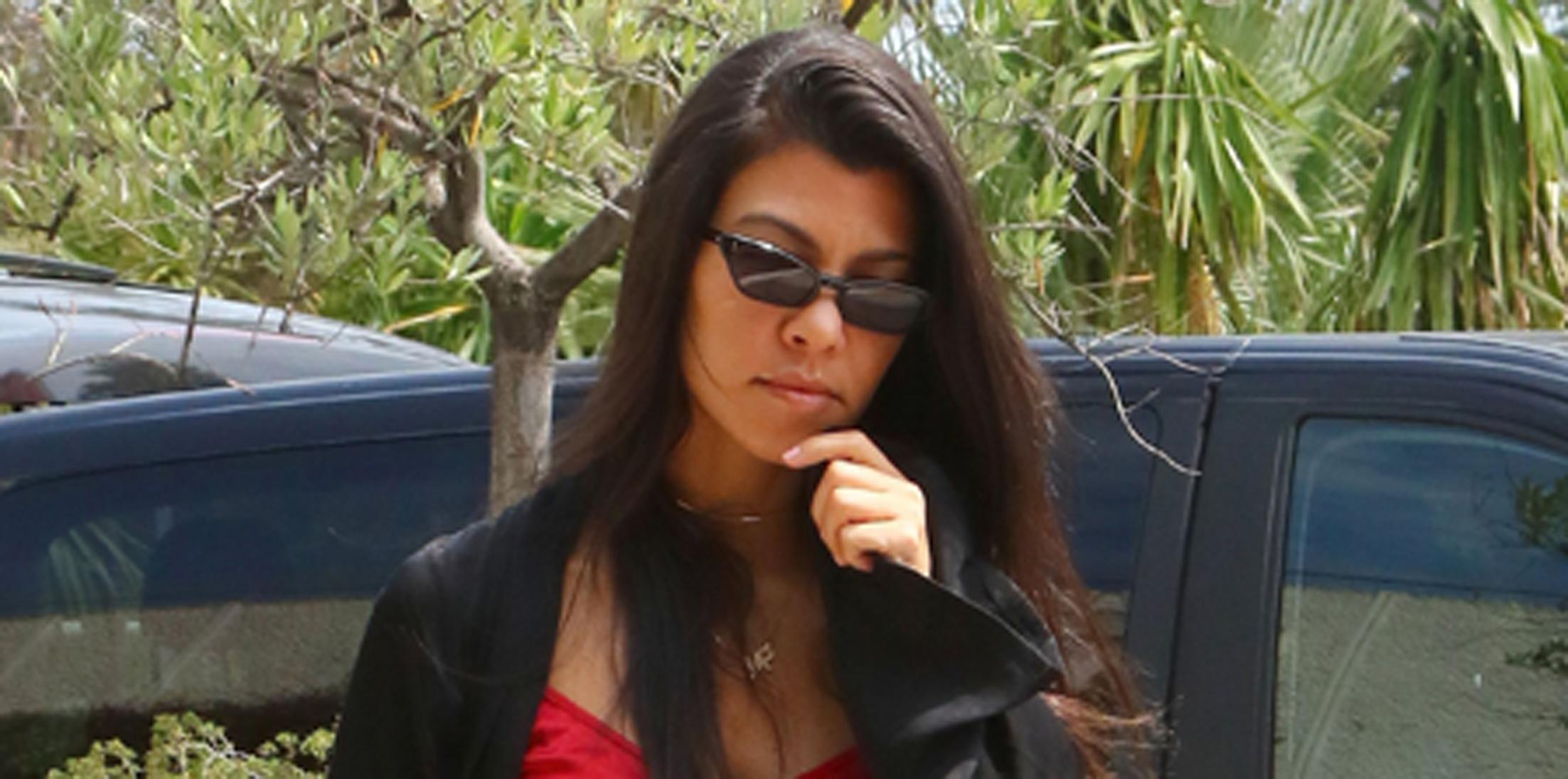 Kourtney Kardashian and Kendall Jenner say goodbye to Cannes with their boys Younes Bendjima and A$AP Rocky