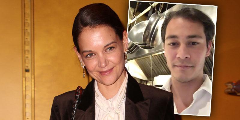 Katie Holmes Confirms Romance Emilio Vitolo PDA Dinner Date
