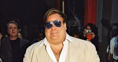 Chris Farley In Suit And Sunglasses REELZ 'Autopsy'