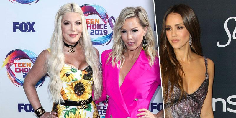 '90210'] Stars [Jennie Garth and Tori Spelling Want To Meet With Jessica Alba