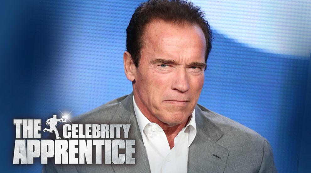 Arnold schwarzenegger celebrity apprentice host donald trump