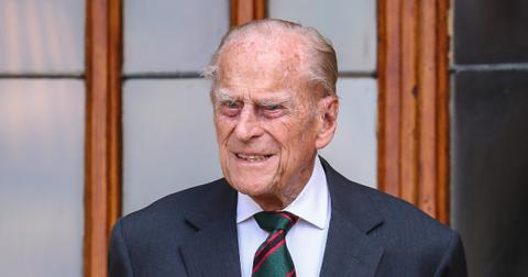 prince philip transferred another hospital infection testing pre existing heart condition