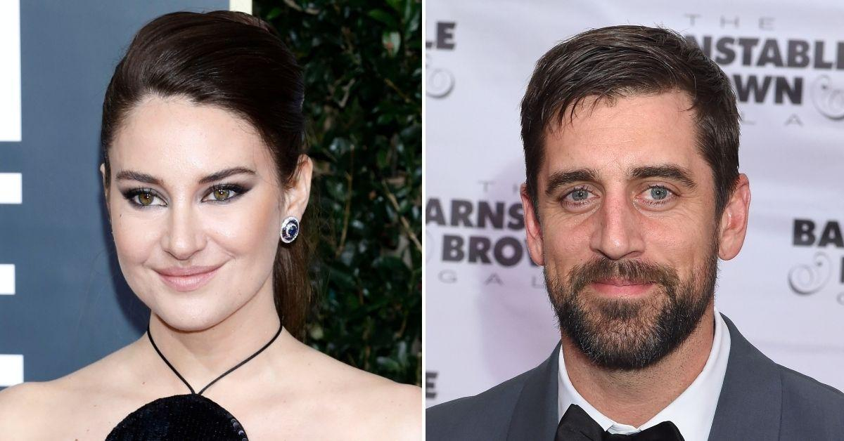 shailene woodley aaron rodgers jumped headfirst relationship engagement pandemic