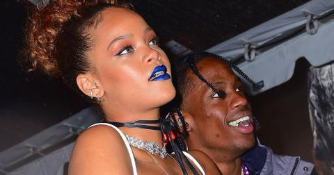 Rihanna travis scott dating official boyfriend