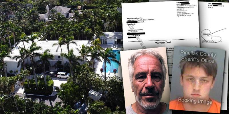 Jeffrey Epstein Palm Beach Mansion