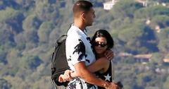 Younes Bendjima holds Kourtney Kardashian close in St. Tropez