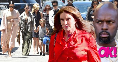 Caitlyn jenner corey gamble family feud