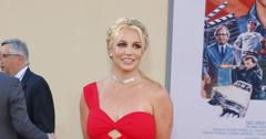 Britney Spears at the Los Angeles premiere of 'Once Upon a Time In Hollywood'