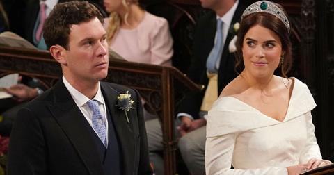 Princess Eugenie and Jack Brooksbank wedding photos dress