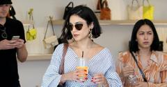 Vanessa Hudgens feeds the meter on shopping trip in WeHo