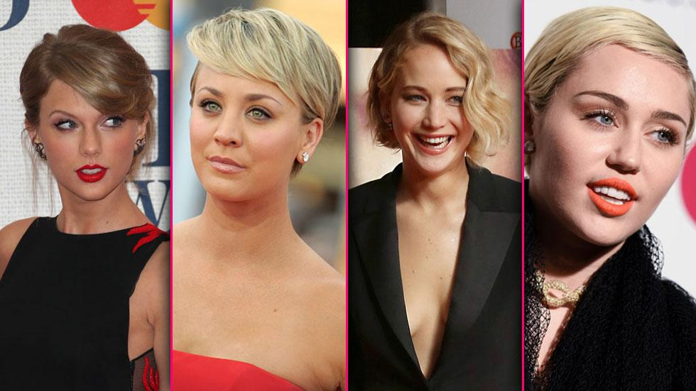 Celebs with short hair 10