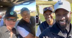tiger woods dwyane wade david spade golf lesson tragic car crash pf