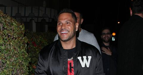 Ronnie Ortiz-Magro is spotted leaving the Delilah club on Grammy night