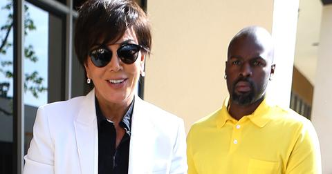 Lamar Odom, Khloe Kardashian, Kris Jenner and Corey Gamble arrive to church on Easter