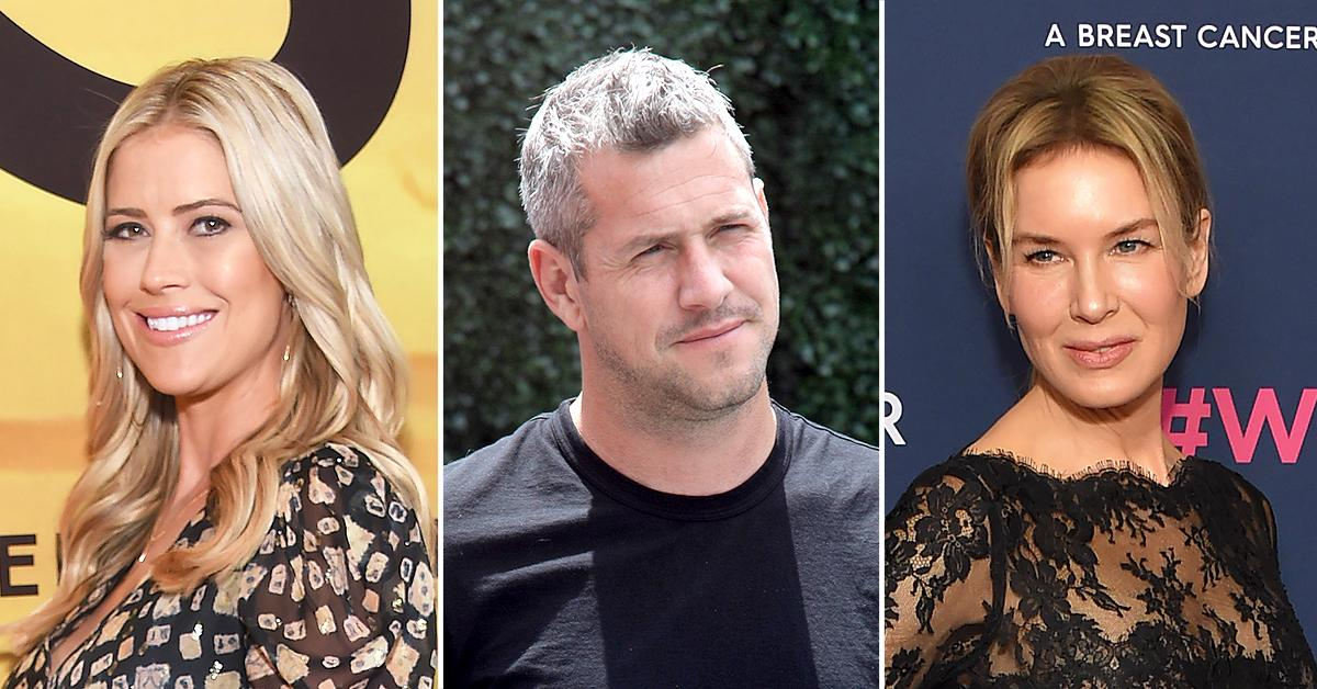 christina haak believes that ex husband ant anstead is using renee zellweger for the publicity
