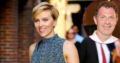 Scarlett Johansson Bobby Flay Dinner Colin Jost Long