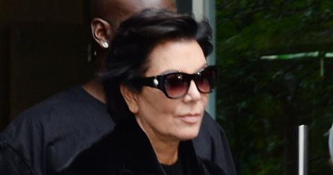 Kris Jenner and Corey Gamble leave their apartment in NYC