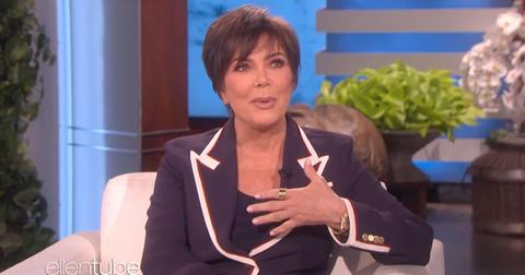 kris jenner choked up talking about khloe being a mom video pp