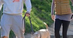 Jenna Dewan Tatum and Channing Tatum hike Runyon Canyon Park