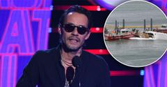 Marc Anthony's $7 Million Dollar Yacht Catches Fire In Miami