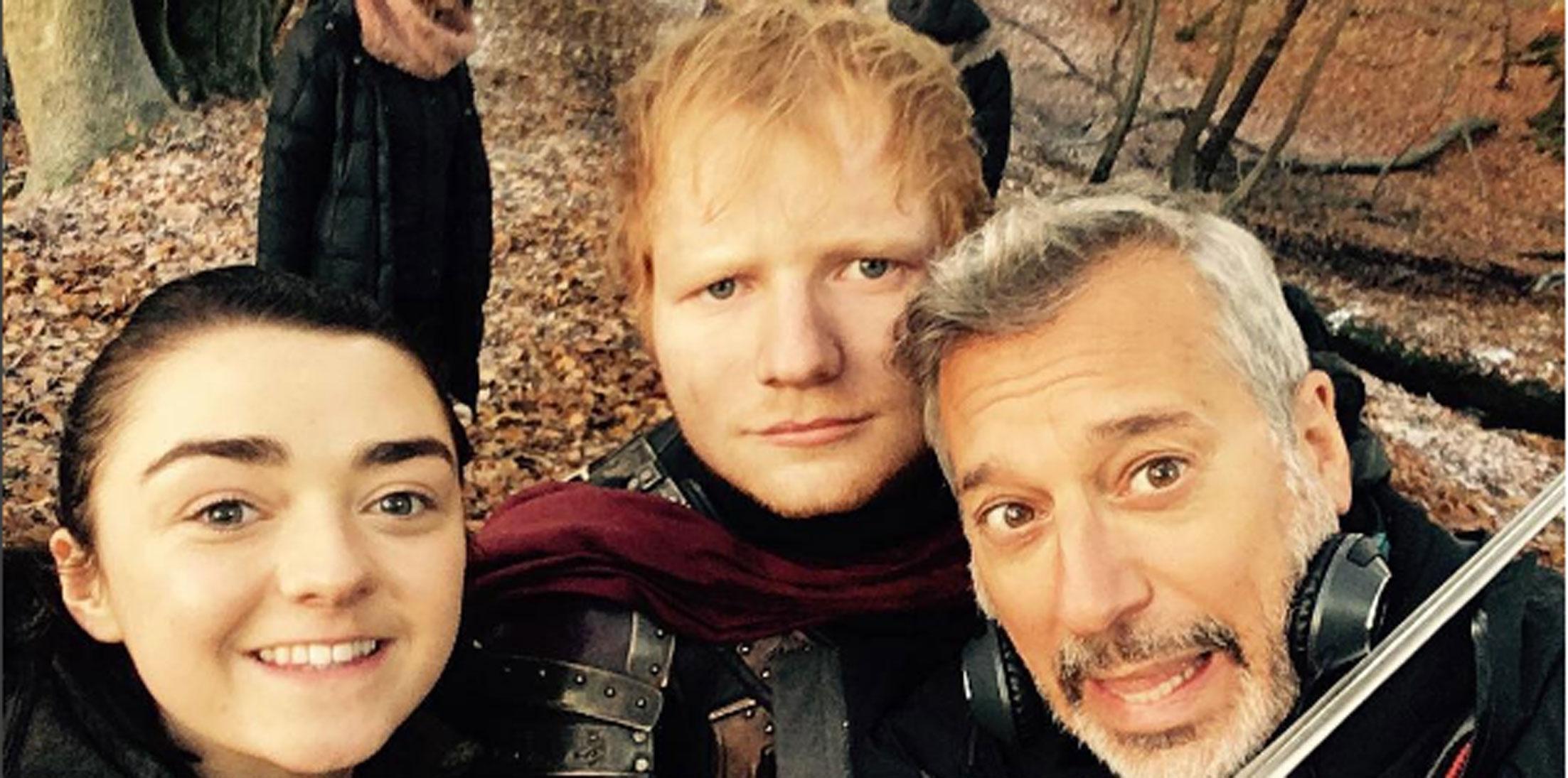 Game Of Thrones Premiere Ed Sheeran Cameo Long