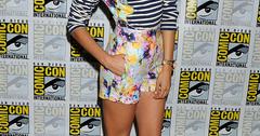 Nina Dobrevin Sachin & Babi The Vampire Diaries Panel at 2013Comic Con 3