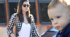 Jessica biel shopping lunch baby silas 06